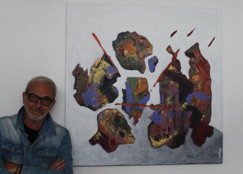 Jean-Michel Noirey a lui-même réalisé quelques œuvres pour l