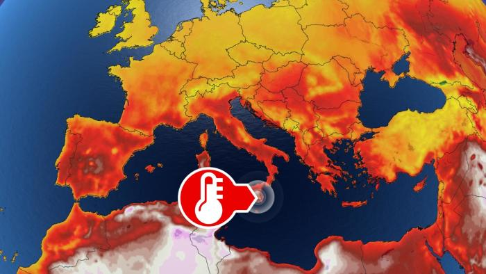 Catastrophic heat: this area is cooking