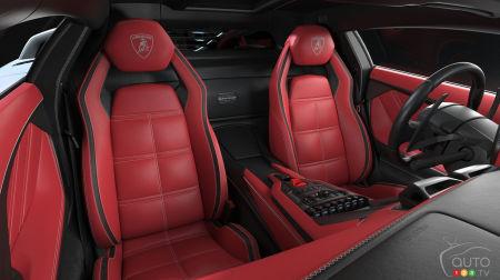 Lamborghini Countach LPI 800-4, seats