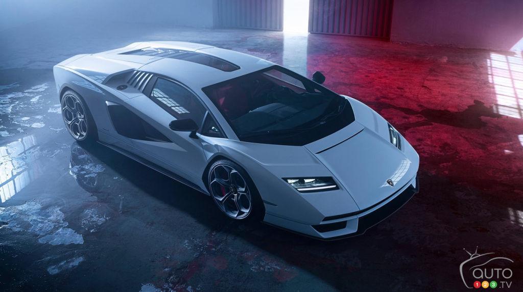 Voici la nouvelle Lamborghini Countach