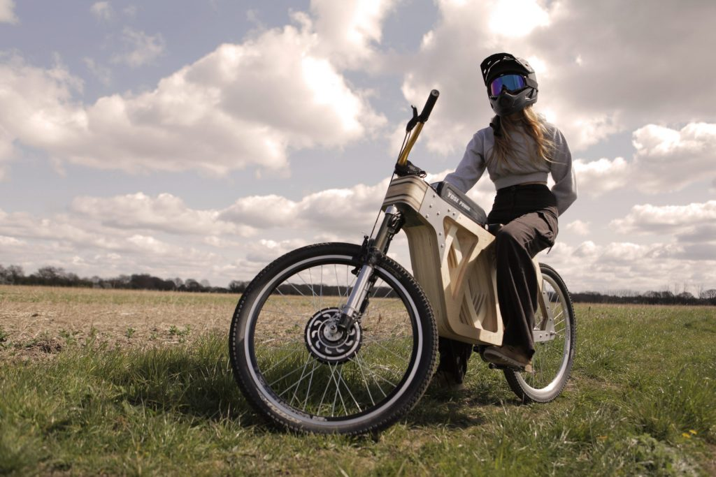 Electraply is an amazing electric bike...made of wood!