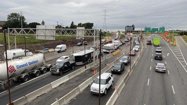 Work on the Pierre Laporte Bridge: SQ calls on drivers to be patient