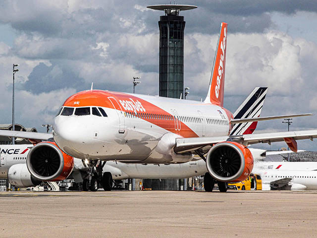 EasyJet: Booking increase between France and the UK
