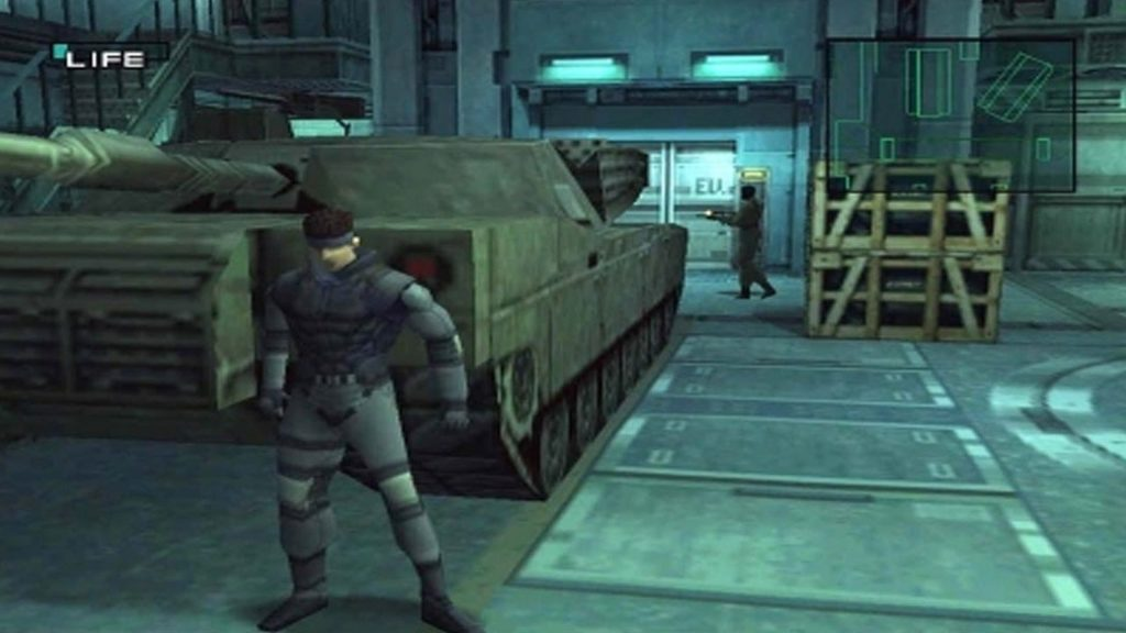 The player finds a new bug in Metal Gear Solid that drives fast racers crazy