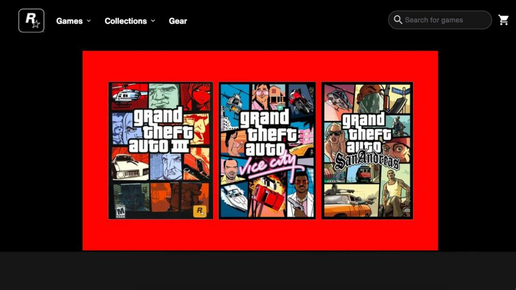 Rockstar has launched its Rockstar Games Store to host its upcoming games