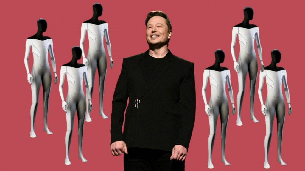 Elon Musk: After the car and space, here he is to defeat the humanoid robot