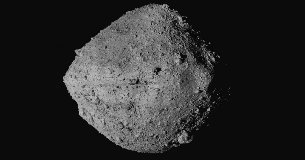 Bennu, the asteroid with a probability of 0.057% hitting Earth - rts.ch