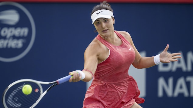 Bianca Andreescu wins her debut in Montreal