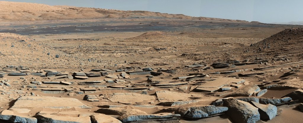 Curiosity roamed the same giant crater for 9 years.  It may not be what we thought