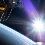 Deploying sun umbrellas in space