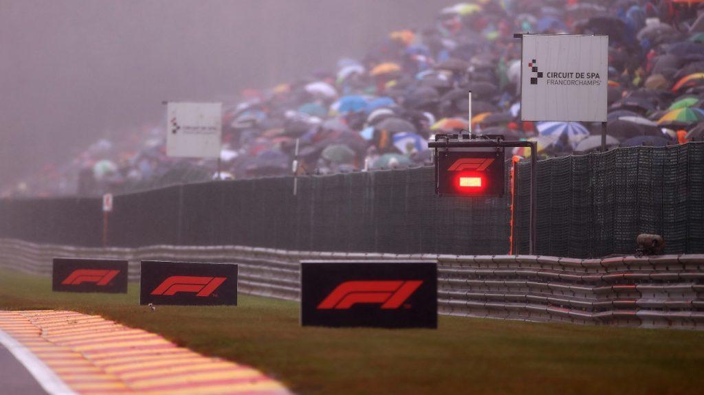 Formula 1: Belgian Grand Prix kick-off delayed due to heavy rain