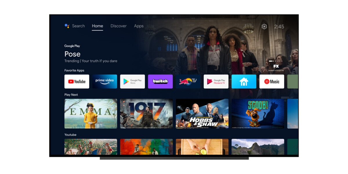 Next update for Android TV