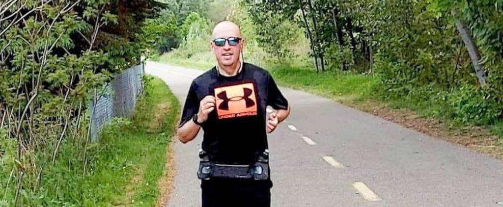 Half marathon with 123 lbs less