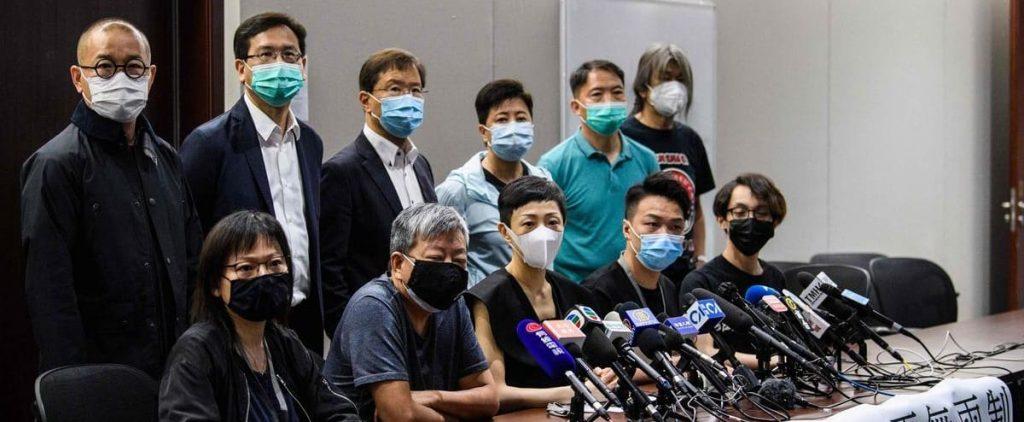 Hong Kong: Major pro-democracy movement declares dissolution