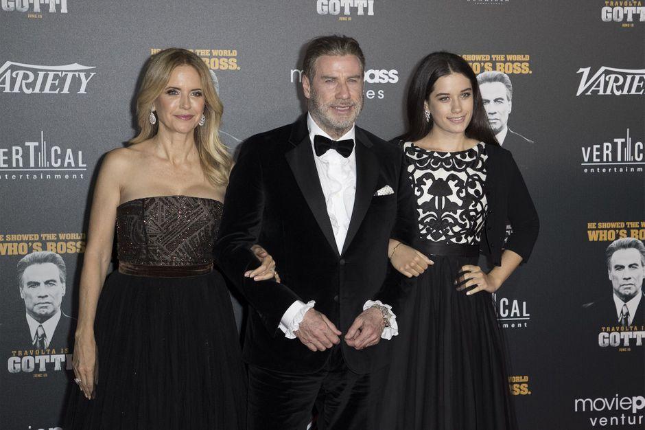 John Travolta, proud of his daughter Ella