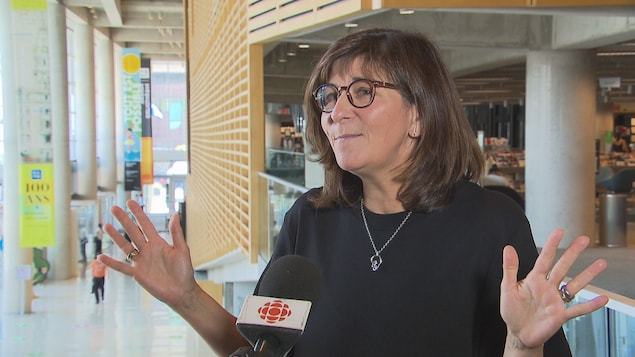 Marie Gregoire asserts that her appointment as BAnQ President was not partisan