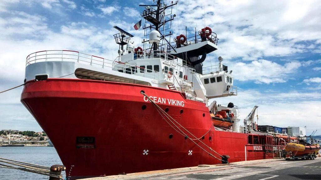 Ocean Viking rescues 196 migrants in the Mediterranean