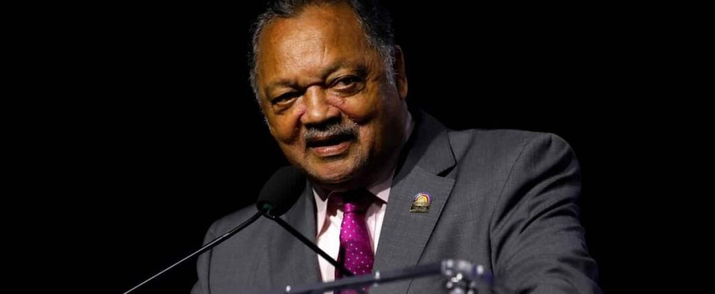 Pastor Jesse Jackson has been hospitalized due to COVID-19