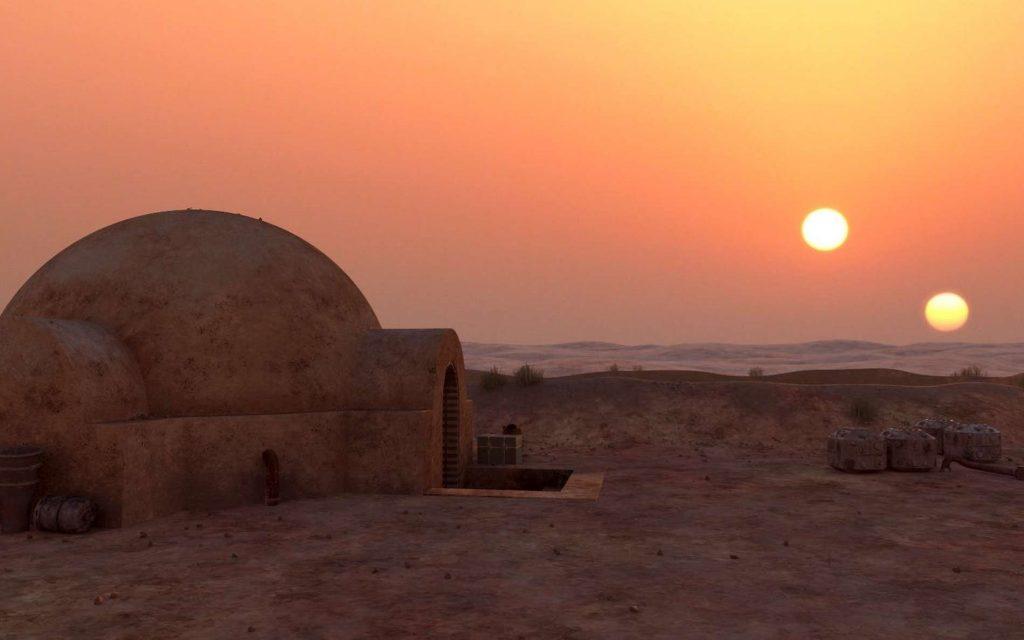 La mythique scène de Star Wars. © Lucasfilm