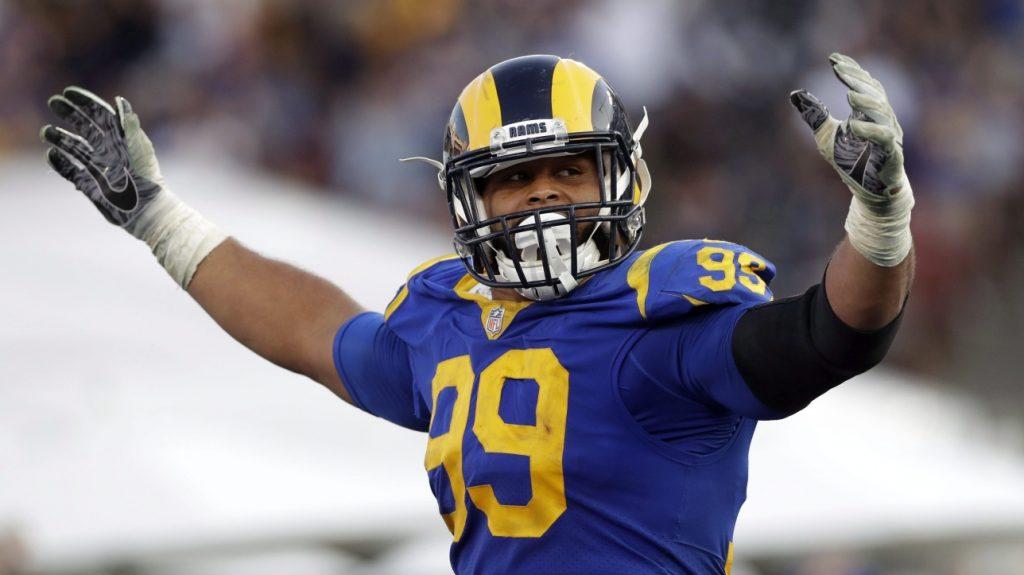The NFL battle between the Rams and the Raiders broke out in training