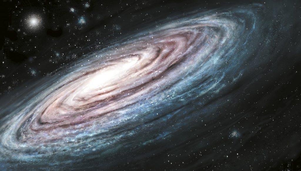 The broken arm of the Milky Way