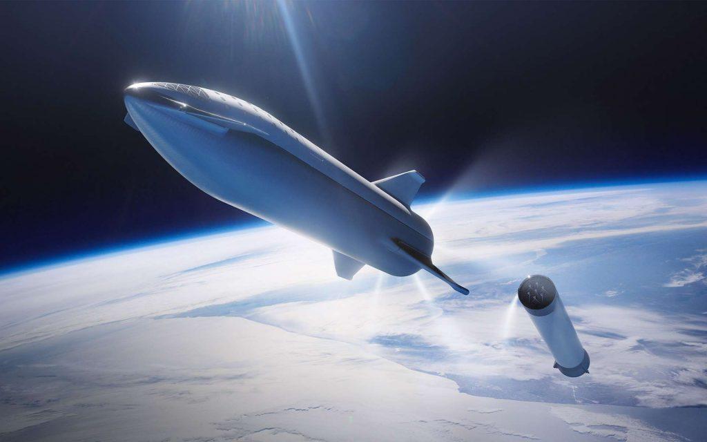 En 2022, un satellite sera placé en orbite pour diffuser de la publicité. © SpaceX