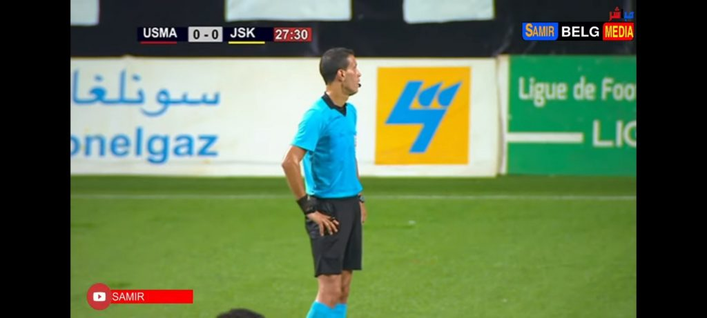 Video.  The referee postpones the resumption of the match due to the call to prayer