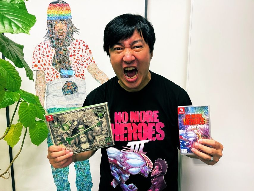 While Suda51 dreams of Marvel, Grasshopper has three new licenses in the works