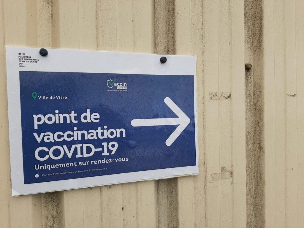 Le centre de vaccination est situé au parc des expositions de Vitré