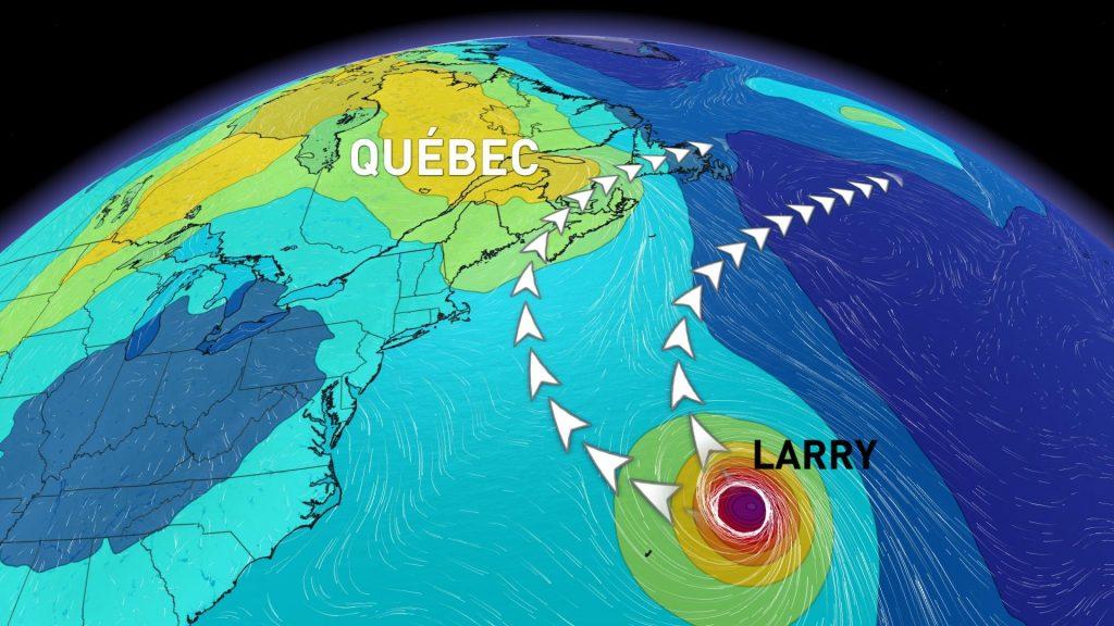 A major hurricane is moving as far as eastern Canada