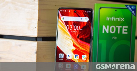 Infinix Note 10 Pro for review