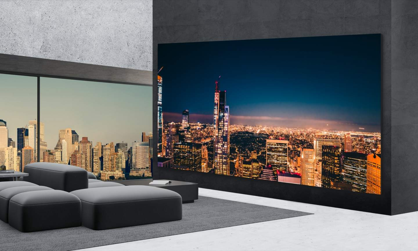 8K, 325-Inch, Will You Give Up on LG's New TV?