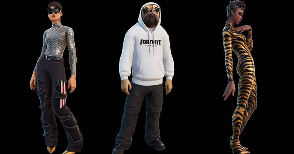 In Fortnite, you will be able to wear Balenciaga