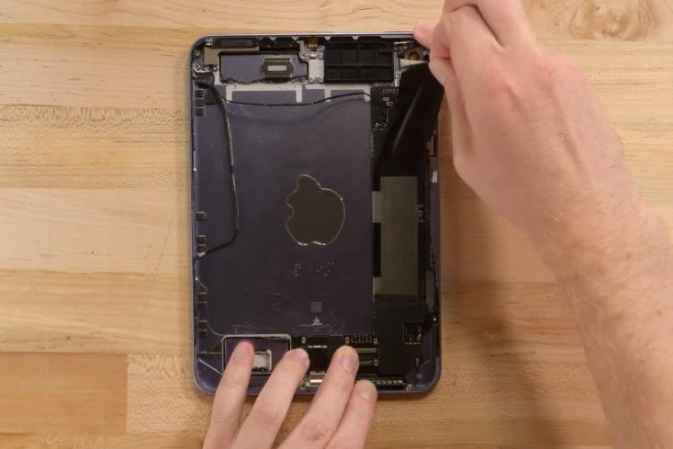 IFixit assumptions about iPad mini 6 slow swipe