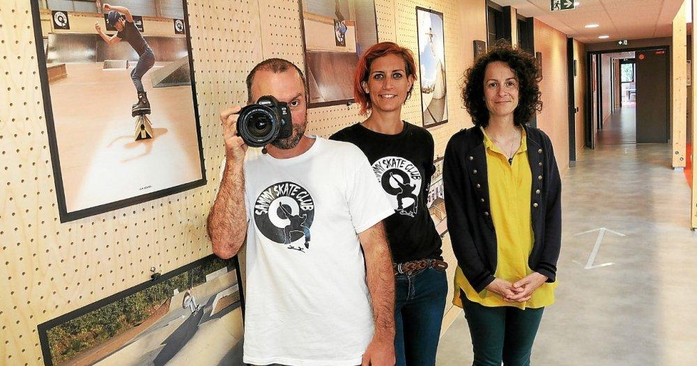 At Quimper, Sammy Skate Club presents in associative space - Quimper