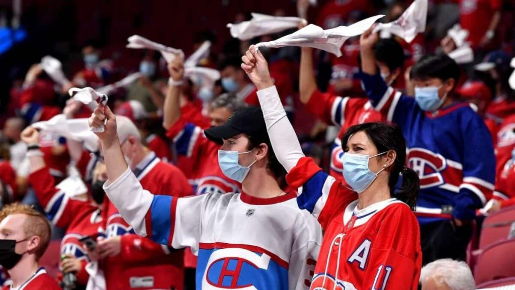Bell Center and Videotron Center at full capacity as of October 8