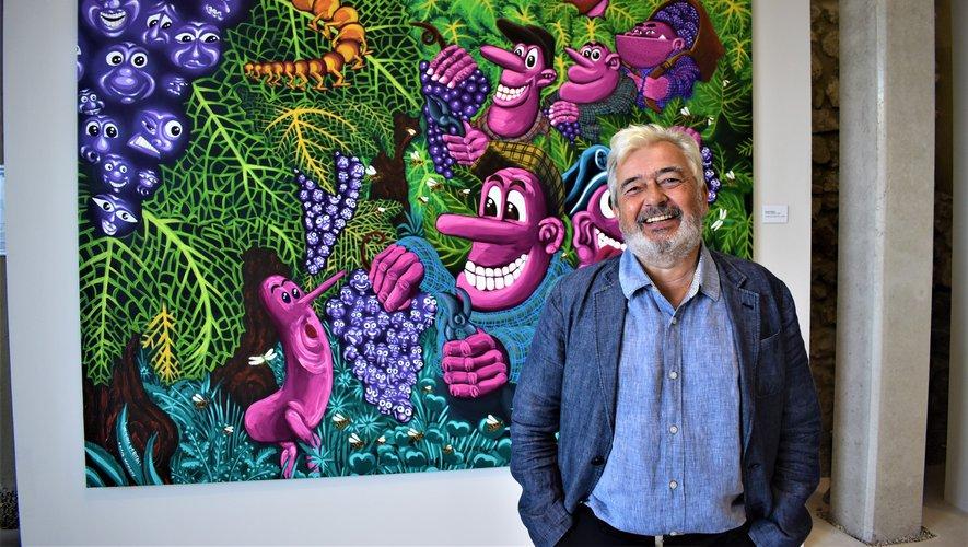 Bézier: New exhibition space for Hero by Hervé de Rosa