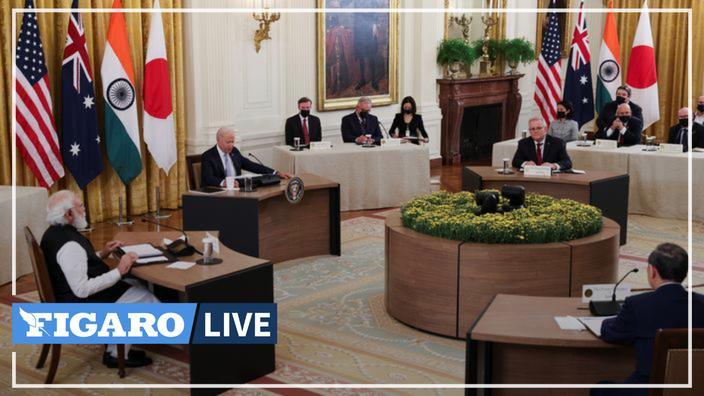 "Biden seeks to renew the alliance ""quad"" with India, Japan and Australia"