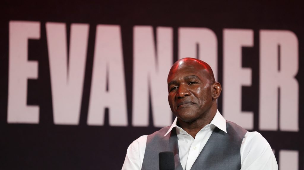 Boxing: Evander Holyfield returns to the ring after 10 years to face Vitor Belfort