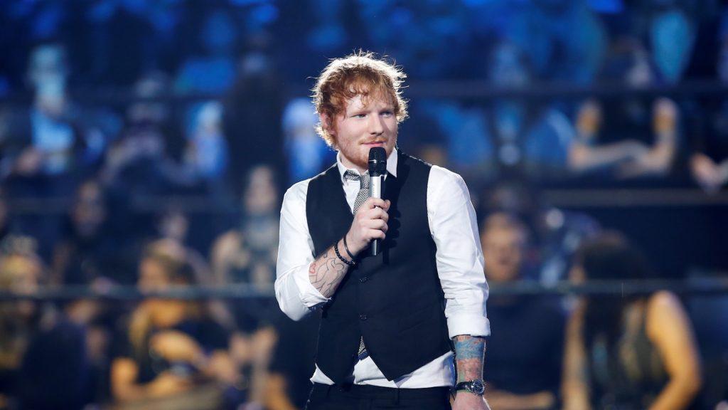 Ed Sheeran denounces the toxic atmosphere of American Galas