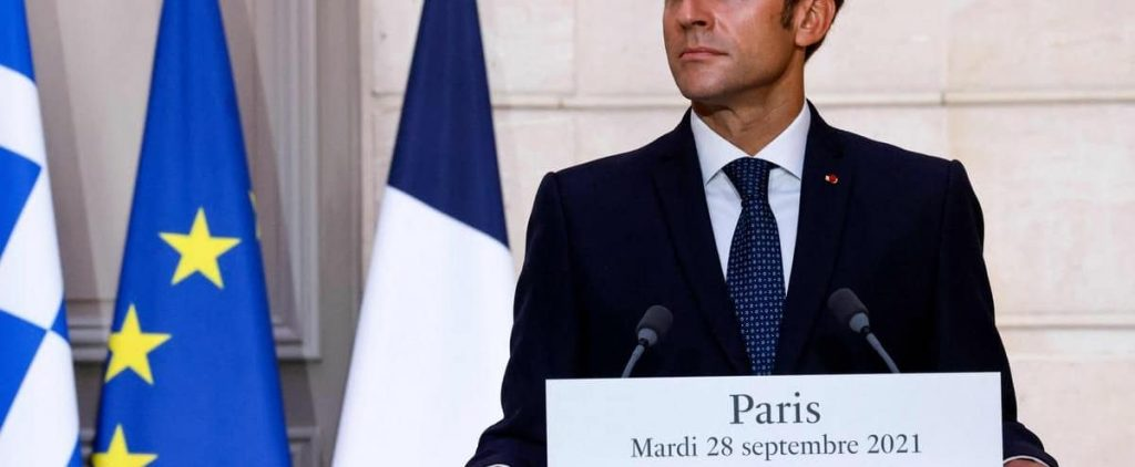 """""""Europeans need to get out of innocence,"""" Macron said"""