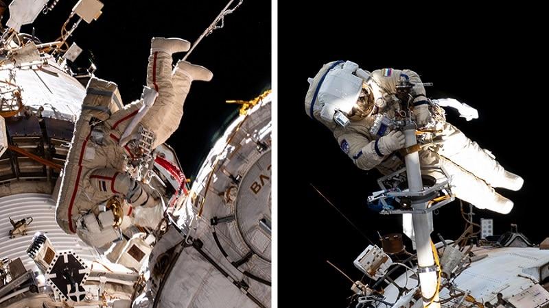 Oleg Novitskiy and Piotr 子 launch into space on September 3