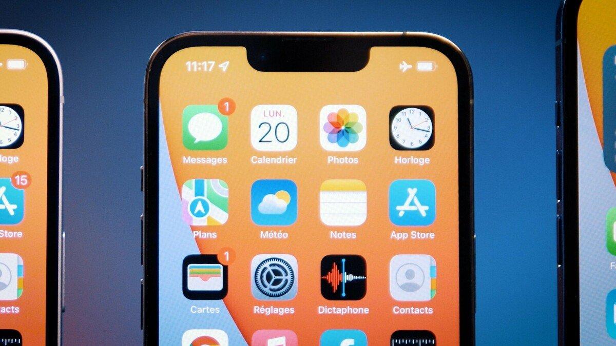 Notch iPhone 13 Pro