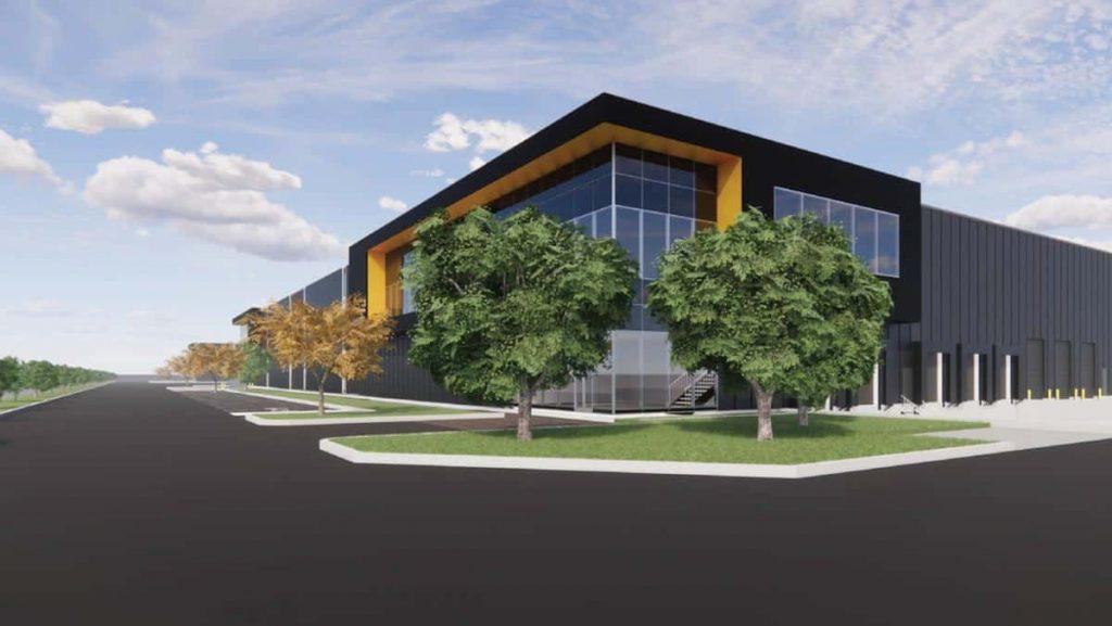Longueuil: New $40 Million Distribution Center for Germain Larivière