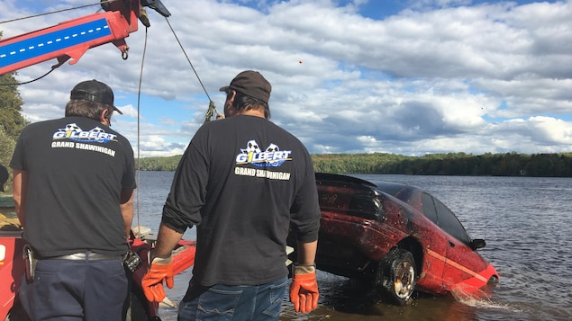 Melissa Blaise: Four chariots came out of the St. Maurice River in Shawinigan