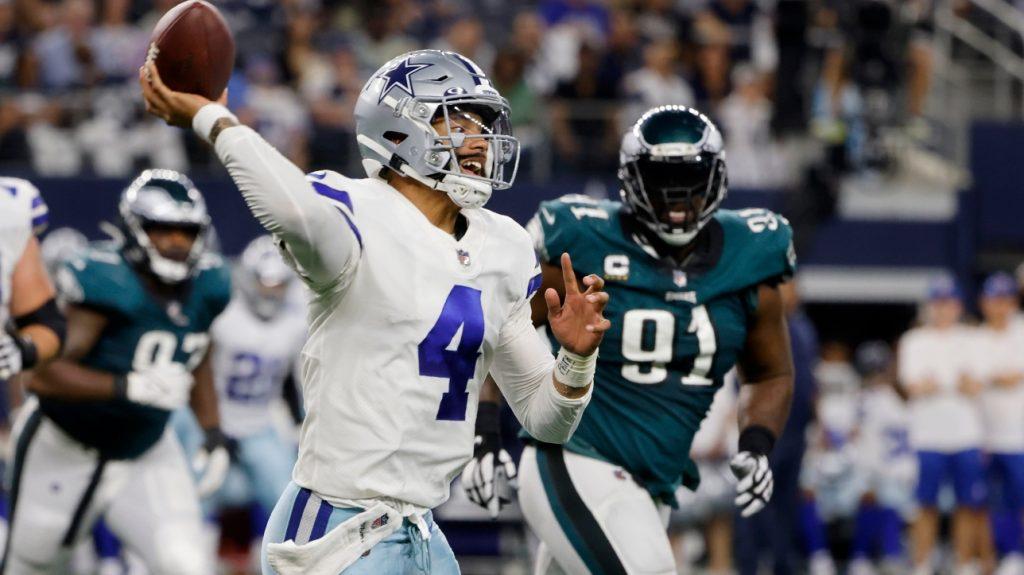 NFL: Cowboys beat the Eagles 41-21
