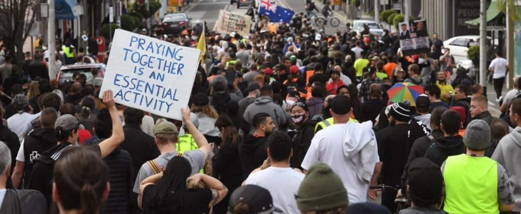 Over 200 arrests in Melbourne during anti-imprisonment rally