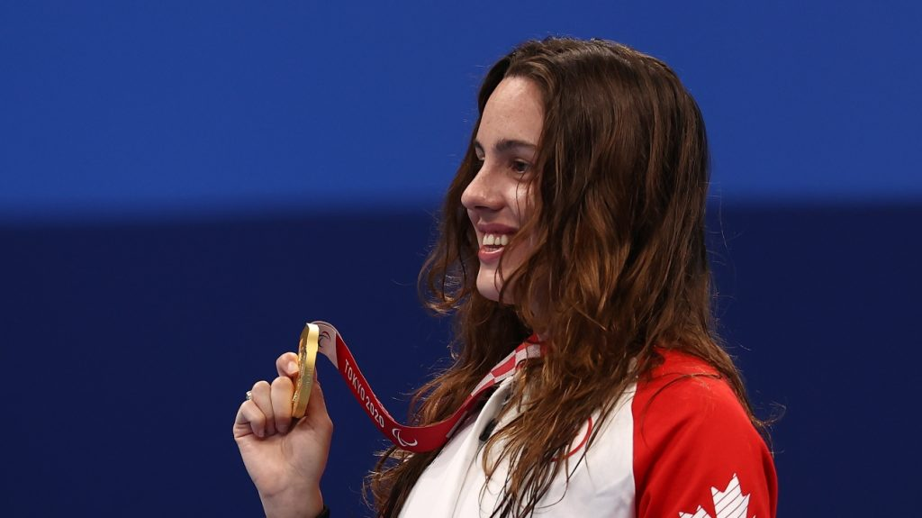 Paralympics: Gold Medal and World Record for Aurelie Rivard in the 400m freestyle