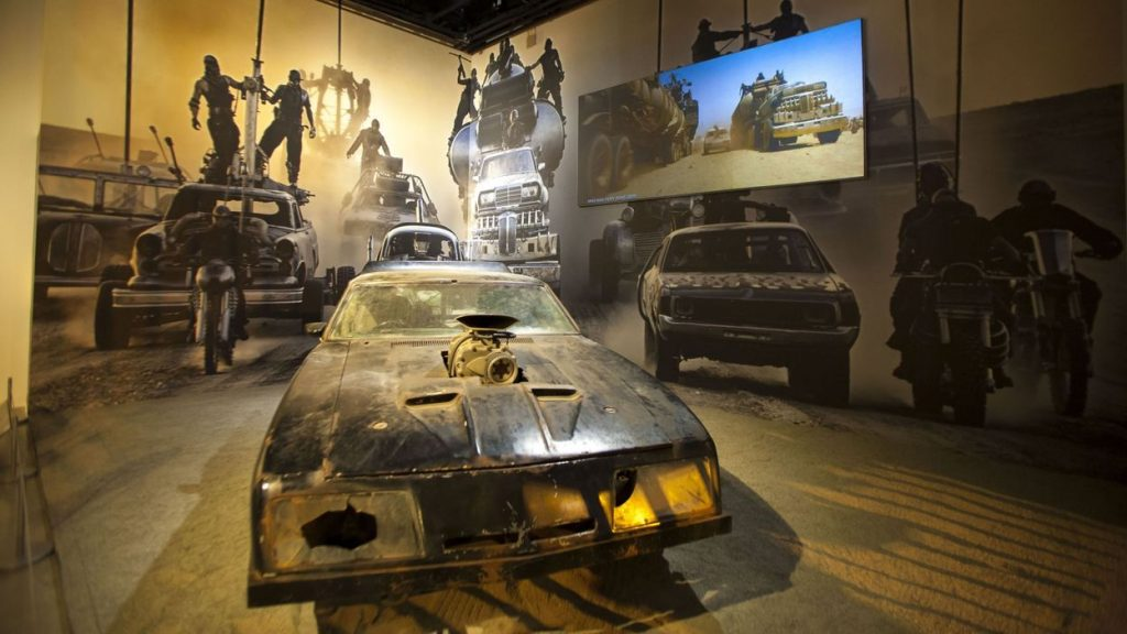 The Mad Max Fury Road Film Navy is for sale in Australia