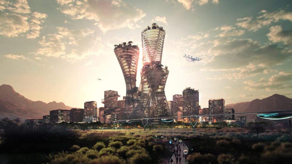 Towards a new $400 billion city in the American desert